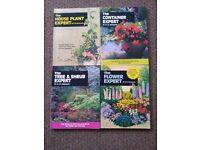 Garden books £1- £2 each