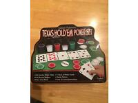 Texas Hold Em Poker Set - In Great Condition!!