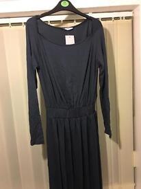 Graphite maxi dress