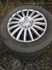 Peugeot 306 tyres, rims, bolts & trims