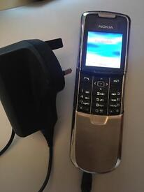 Nokia 8800 mobile phone unlocked