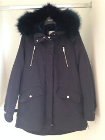 Two ladies/girls Mango/Mantaray winter coats size 10-14, please see descriptions for details