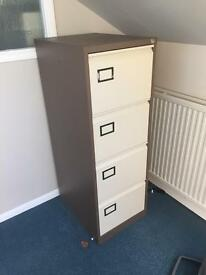 4 draw metal fileing cabinet office filing cabinet