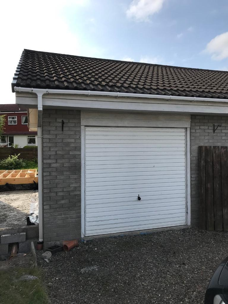 Build Your Own Garage >> Garage Door Tiles Roof Trusses Build Your Own Garage In Stirling