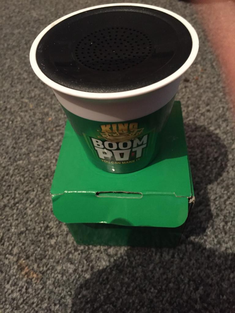 Pot noodle speaker
