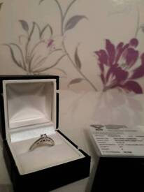 Engagement Ring size M