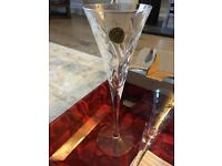 RCR Crystal Melodia Champagne Flutes Wine Glasses (Set of 6) Clear