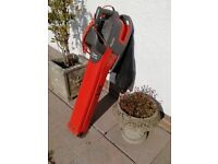 Flymo electric leaf blower and vacuum