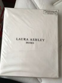 Laura Ashley double fitted sheet new and packaged