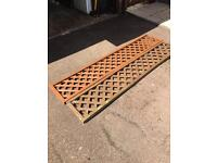 Trellis 6ft by 1ft x 2 one as new