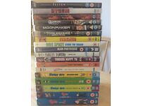Misc. Comedy / James Bond / Foreign film DVDs (18 overall) for £25
