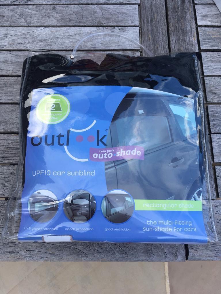 Outlook autoshade UPF10 car sun shades