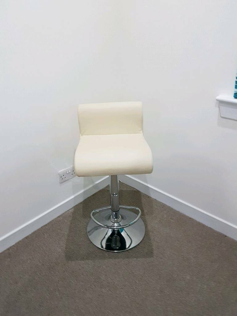 Cream bar stool