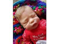 Leelou by Cassie Brace reborn baby