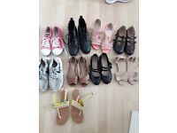 Bundle of girls clothes, jackets & shoes 11 to 13, £75