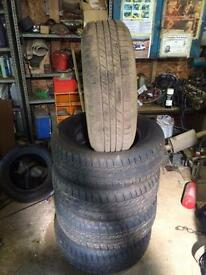 Goodyear 255 65 17 tyres pick up/ 4x4