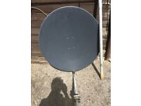 satellite i meter solid dish