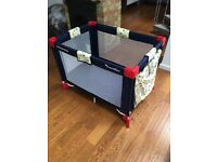 Baby travel cot - Petite Star Traveller £20 Clapham