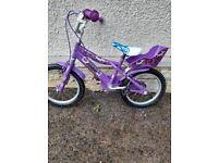 Kids 16 inch bike 5+ years
