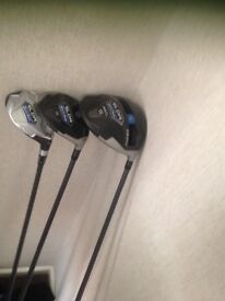 Taylor made SLDR Driver,3 Wood and Rescue