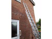 For Sale: 3.4 Metre aluminium extendable ladder.