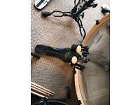 Practically new full drum kit
