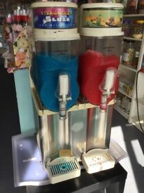 2 Bowl Electrofreeze Slush Machine. Full Working Order. Ideal for Shop/Restaurant