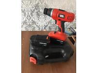 Black & decker 18v cordless hammer drill