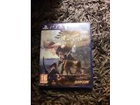 Monster Hunter World (PS4, Brand New)