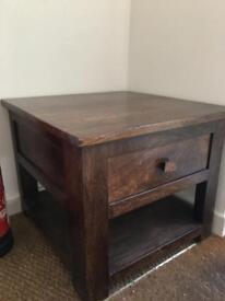 Dark Wood Small Table for Sale