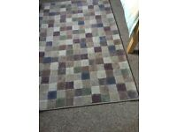 Gillies Broughty Ferry Pattered Rug (nearly new)