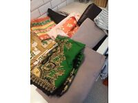 Fabric Grab Bag - Sewing, Reupholstery, Crafting, Etc.