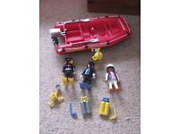 playmobil dive boat