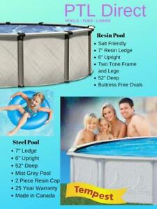 Above Ground  Swimming Pools  - We ship Free to Nova Scotia daily - Guaranteed Best Price - Manufacture Direct