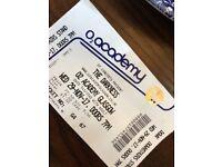 1 x Standing Ticket - The Darkness Glasgow TONIGHT