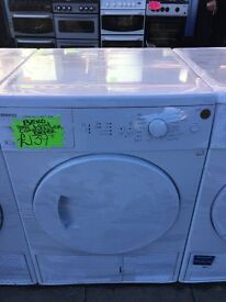 BEKO 8KG LOAD CONDENSER TUMBLE DRYER IN WHTE