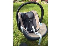 Cybex group 0 car seat + isofix