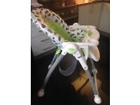 MOTHERCARE ADJUSTABLE HIGHCHAIR