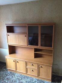 Schriber Dresser Sideboard Cocktail and Display Cabinet