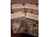 Gardens Illustrated Magazines. 4 issues.