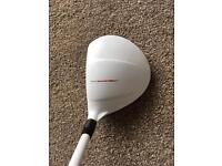 Taylormade aeroburner 15 degree 3 wood golf club, regular shaft
