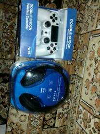 Headphone ps4 plus wireless control new