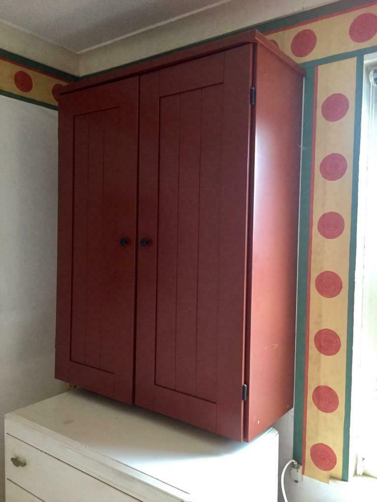 Ikea Wall Cabinet In Terra Cotta Colour In Killyleagh County Down Gumtree
