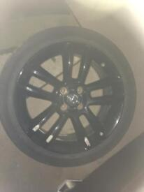 Vauxhaull corsa D limited edition alloy wheel and tyre 215/45/17