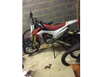 Crfn 125 dirtbike/pitbike big wheel not Ktm,kx,cr,crf,yz