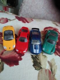 REDUCED TOY METAL CARS