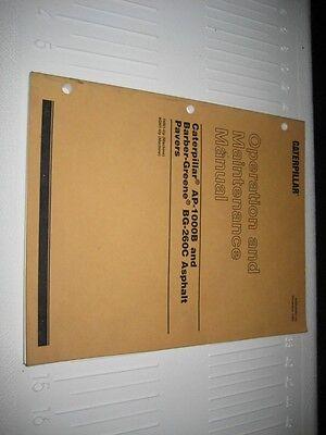 Caterpillar Manual AP-1000B, BG-260C