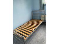 Metal Frame Single Beds x 2