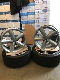 """Audi 18"""" Alloy Wheel x 4"""