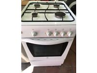 White gas cooker 50cm...Free Delivery
